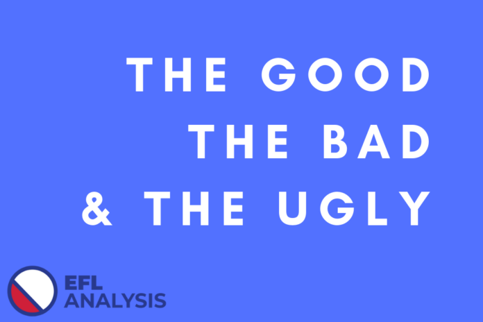 The Good, The Bad & The Ugly EFL