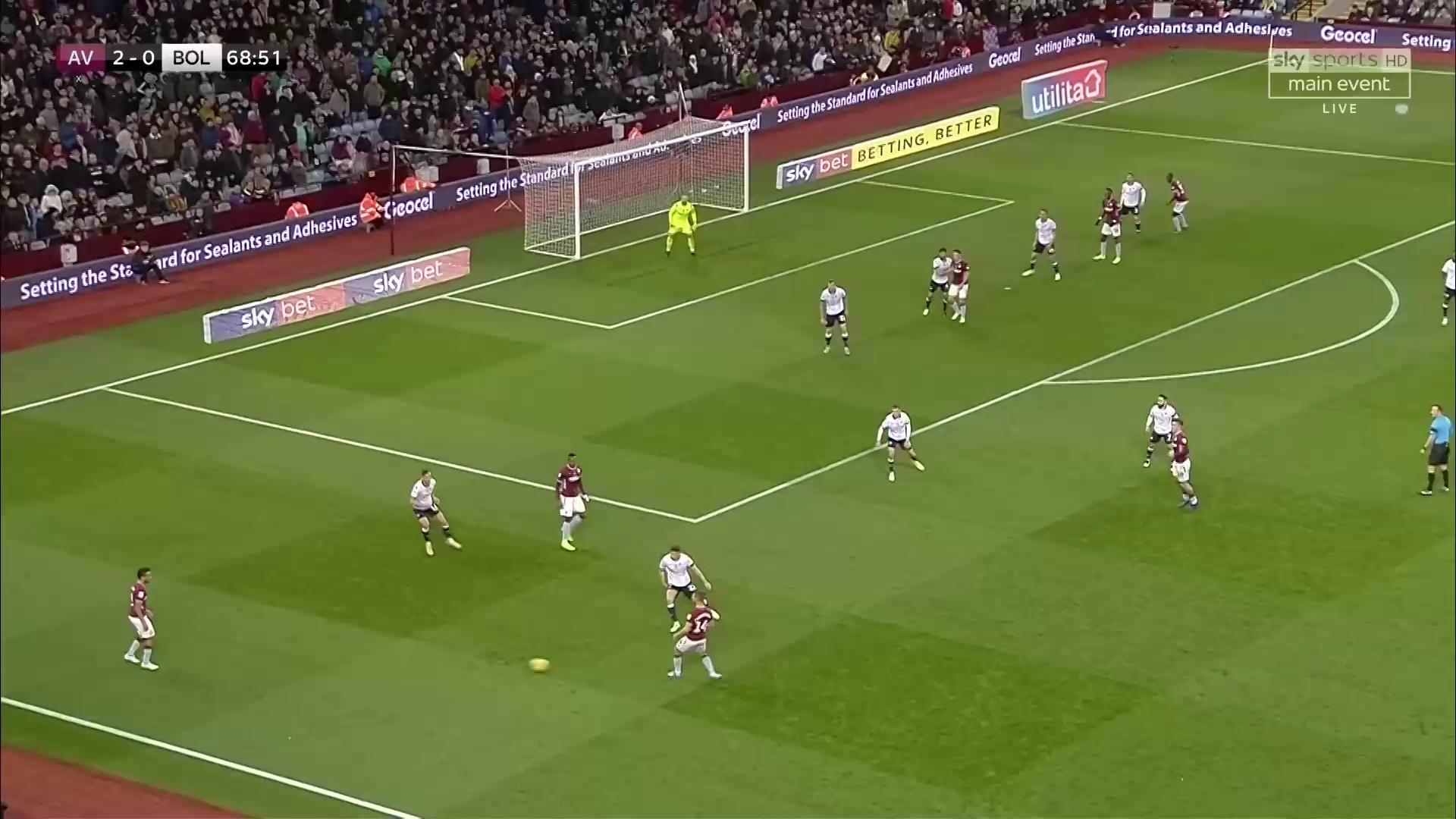 Aston Villa, Bolton, Tactical Analysis, Statistics