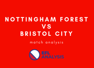 Nottingham Forest Bristol City EFL Championship Tactical Analysis Statistics