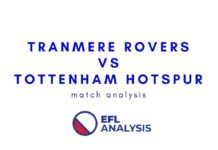 Tranmere Rovers vs Tottenham Hotspur FA Cup Tactical Analysis Statistics