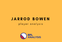 Tactical analysis and statistics of Hull City's Jarrod Bowen. With interest from Premier League clubs, our analysis uses statistics to dive into what makes him so attractive. With statistics and data, our analysis will show you what kind of player he is, and what this could mean for the future of the Premier League.