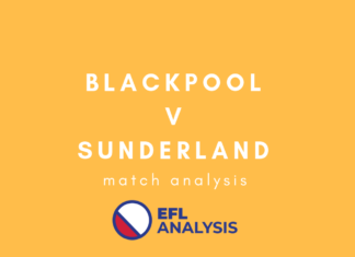 Blackpool Sunderland League One Tactical Analysis