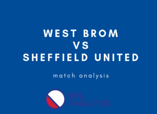 West Brom Sheffield United EFL Championship Tactical Analysis Statistics