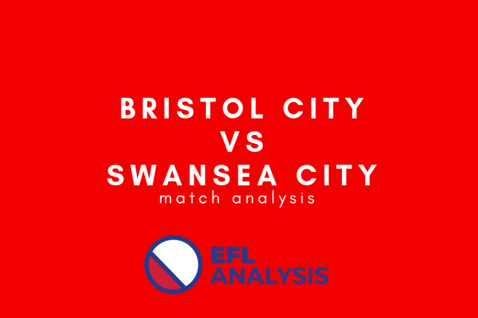 Bristol City Swansea City EFL Championship Tactical Analysis Statistics