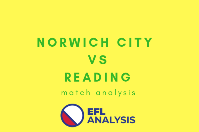 Norwich City Reading Tactical Analysis