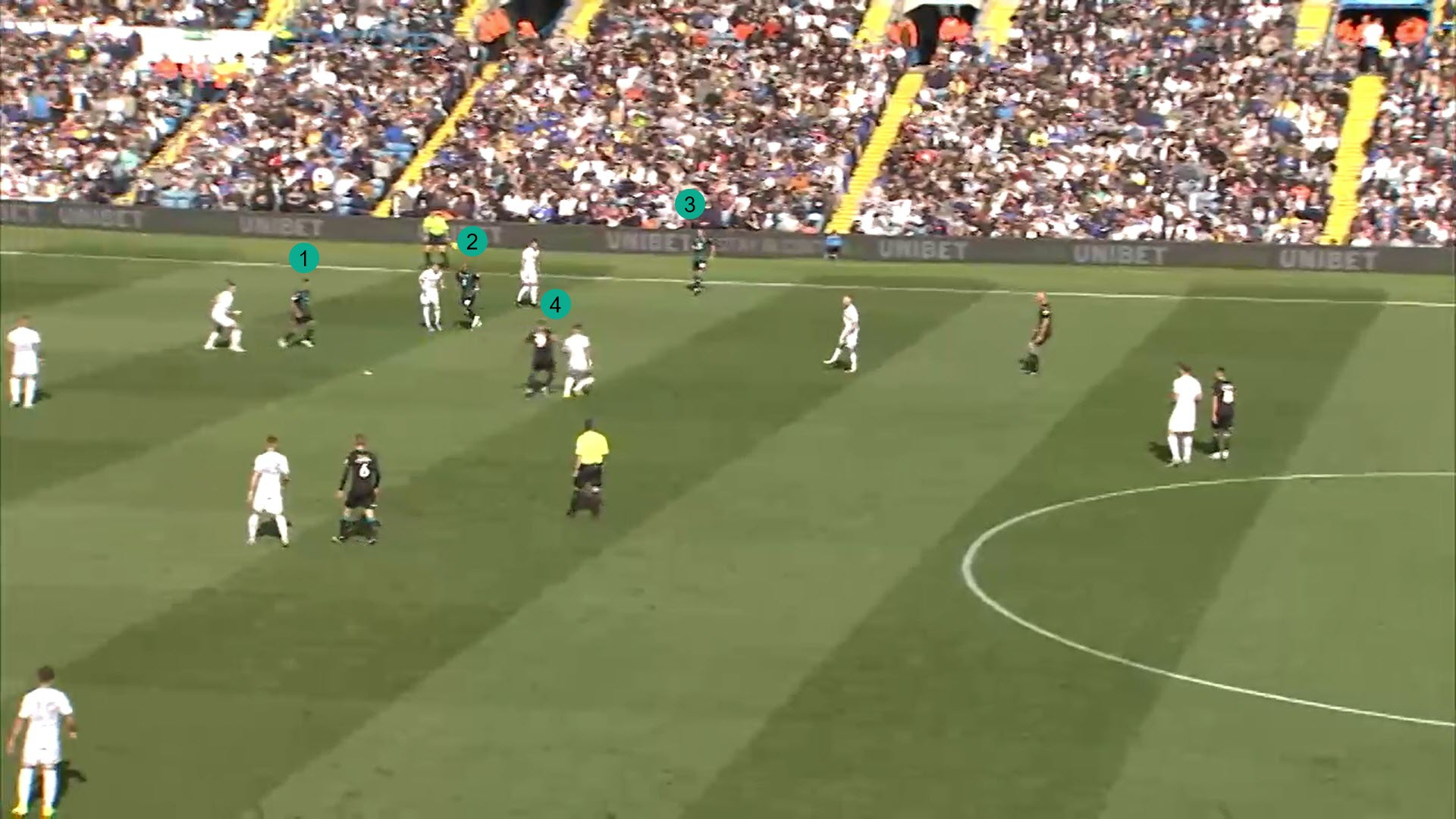 Steve Cooper at Swansea City 2019/20 - tactical analysis tactics