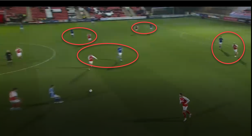 Fleetwood town 2019/20:maintaining width in attack-scout report tactical analysis tactics