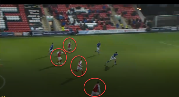 Fleetwood town 2019/20: maintaining width in attack-scout report tactical analysis tactics