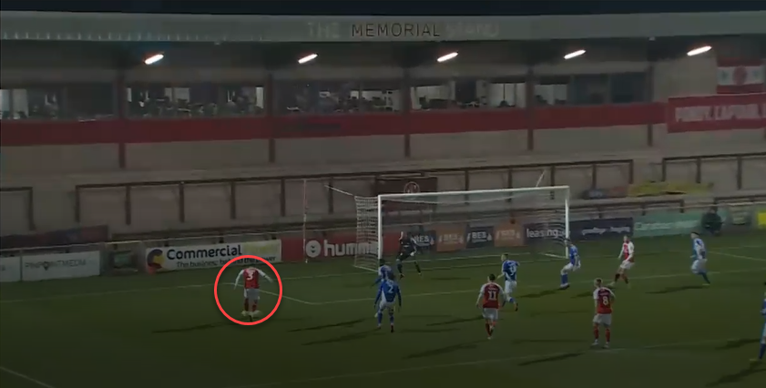 Fleetwood town 2019/20:maintainind width in attack-scout report tactical analysis tactics