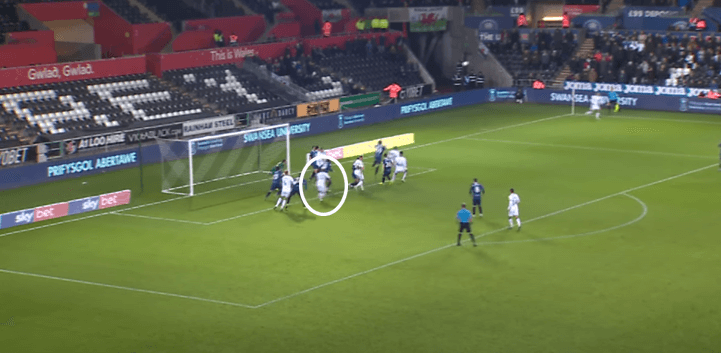 Andre Ayew at Swansea City 2019/20- scout report- tactical analysis tactics